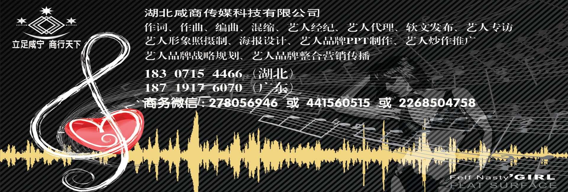 湖北咸宁专业的艺人推广公司湖北咸商传媒科技有限公司